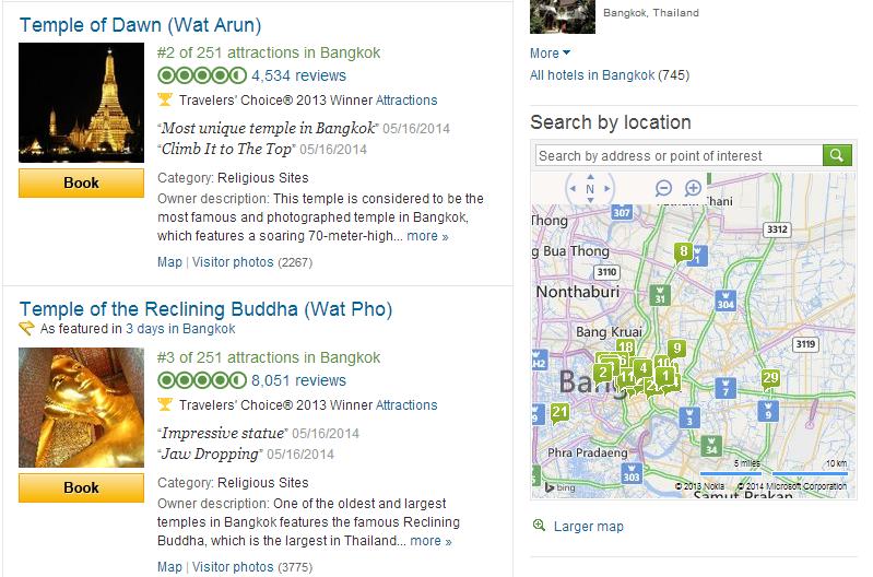 Dua spot ini sepertinya wajib. Khusus Wat Arun lokasi wajib di malam hari