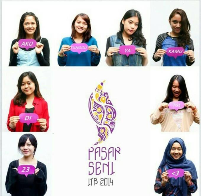 Ikutin Pasar Seni ITB 2014 ya, Empat Tahun Sekali !!