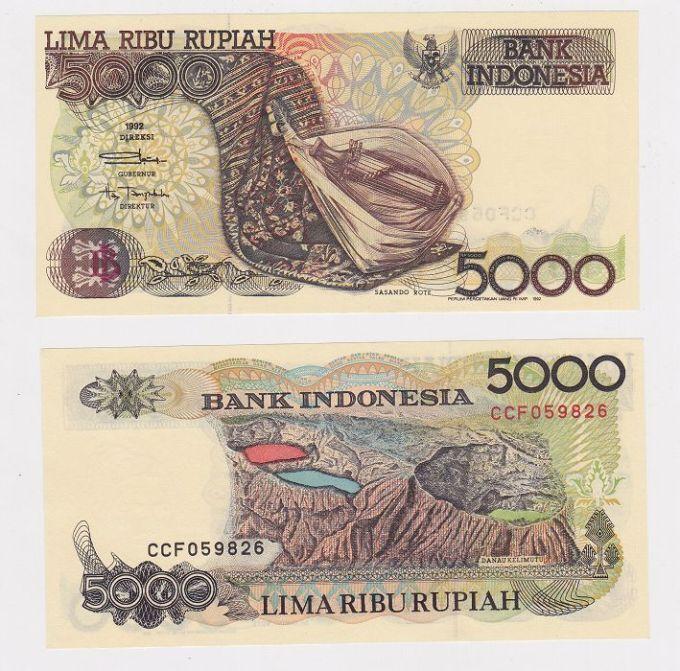 Mata Uang Kertas 5000 rupiah